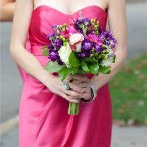 Bill Levkoff Size 2 Bridesmaid Dress